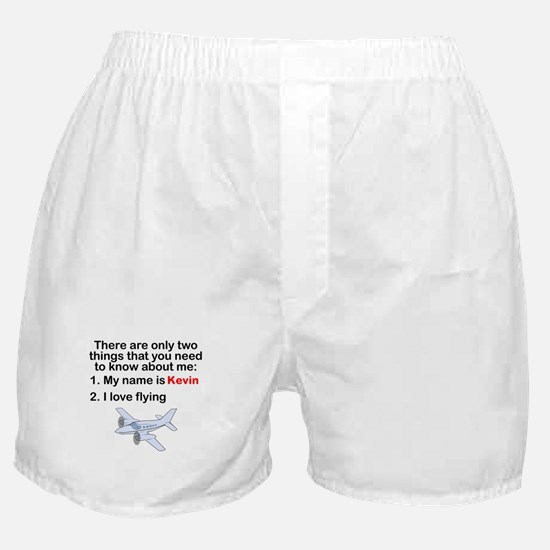 Two Things Flying Boxer Shorts