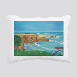 Springtime at the Childr Rectangular Canvas Pillow
