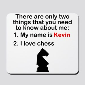 Two Things Chess Mousepad