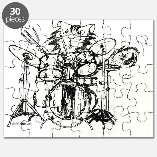 DRUMMER WILD V Puzzle