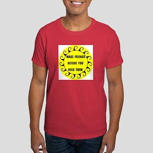 MAKE FRIENDS Dark T-Shirt