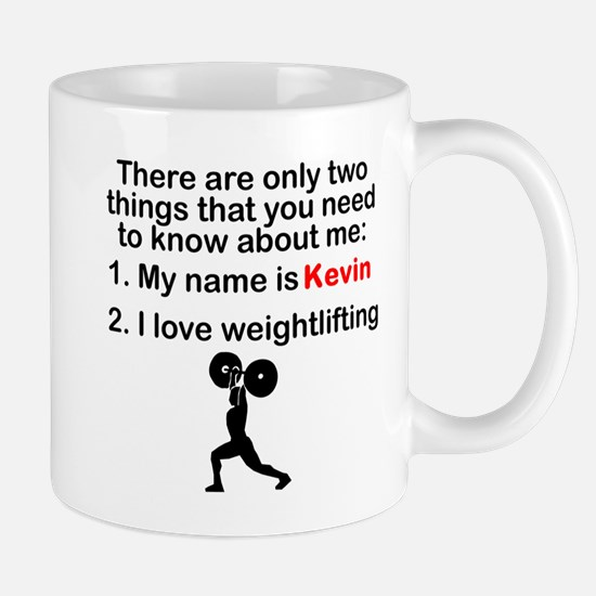 Two Things Weightlifting Mugs