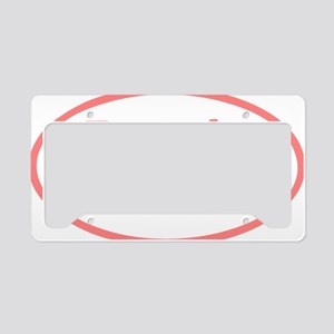 Free_the_TaTas_oval License Plate Holder