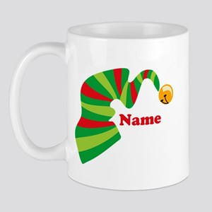 Personalized Elf Hat Mug