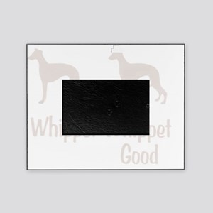 whippet_wht Picture Frame