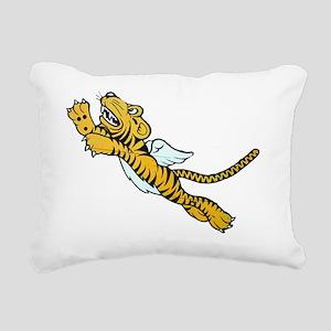 Flying Tiger Rectangular Canvas Pillow