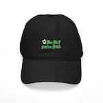 Kiss Me if You're Irish Black Cap