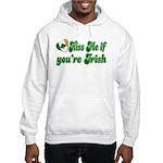 Kiss Me if You're Irish Hooded Sweatshirt
