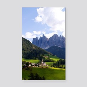 Beautiful isolated lonely chu Rectangle Car Magnet