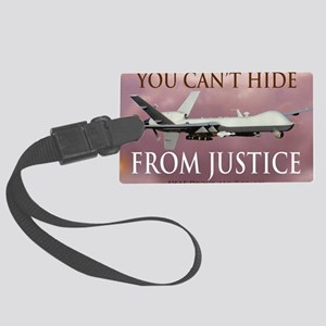 Mil 15 Reaper no gear copy Large Luggage Tag