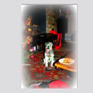 SantasStopMATTE Postcards (Package of 8)