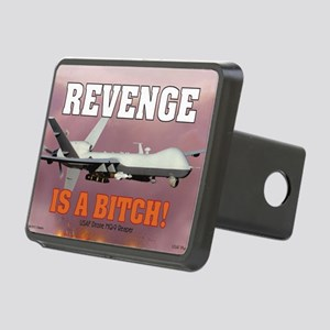 Mil 16 Battle Reaper-1 cop Rectangular Hitch Cover