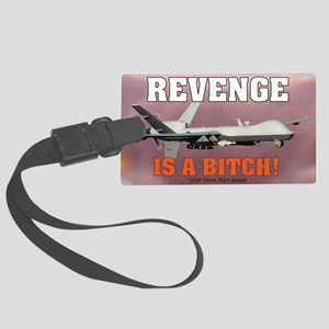 Mil 16 Battle Reaper-1 copy Large Luggage Tag