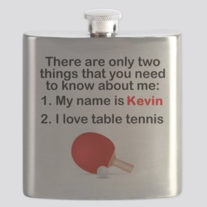Two Things Table Tennis Flask