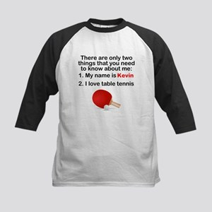 Two Things Table Tennis Baseball Jersey