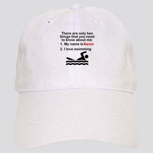 Two Things Swimming Cap