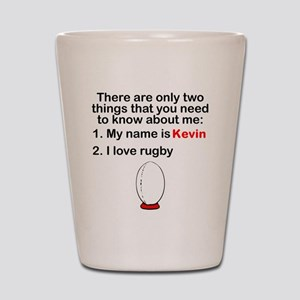 Two Things Rugby Shot Glass