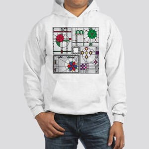 FourPatternsTile02 Hooded Sweatshirt