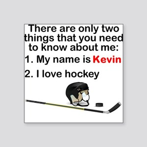 Two Things Hockey Sticker