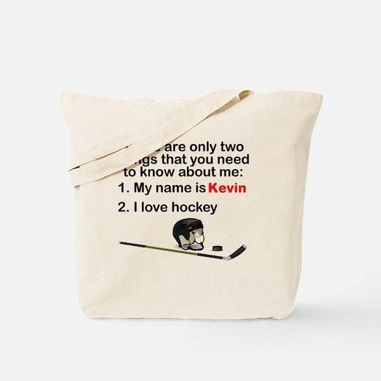 Two Things Hockey Tote Bag