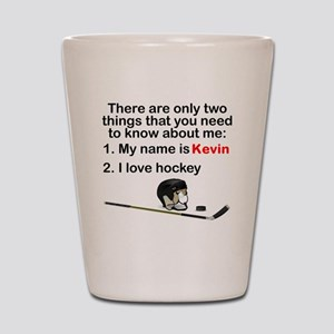Two Things Hockey Shot Glass