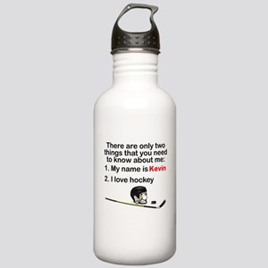 Two Things Hockey Sports Water Bottle