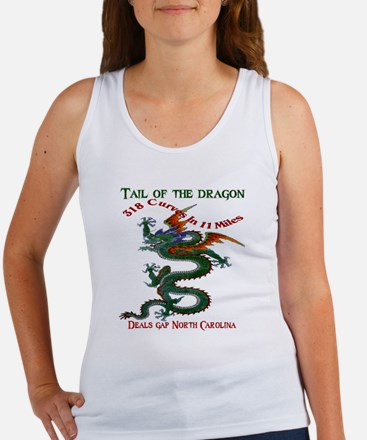 Tail of the Dragon 318 Curves in  Women's Tank Top