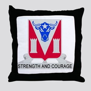 82d Engineer Battalion Throw Pillow