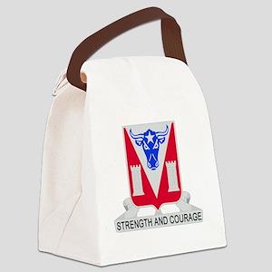 82d Engineer Battalion Canvas Lunch Bag
