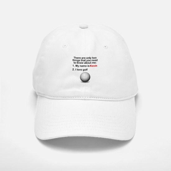 Two Things Golf Baseball Baseball Cap