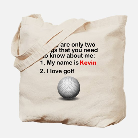 Two Things Golf Tote Bag