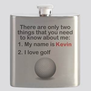 Two Things Golf Flask