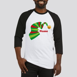 Personalized Elf Hat Baseball Jersey