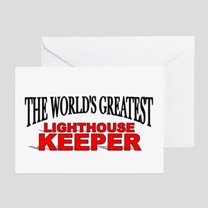"""""""The World's Greatest Lighthouse Keeper"""" Greeting"""