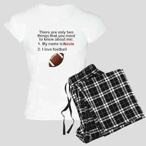 Two Things Football pajamas