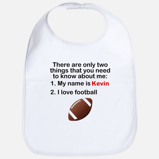 Two Things Football Bib