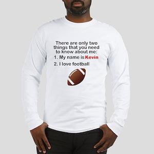 Two Things Football Long Sleeve T-Shirt
