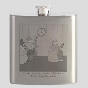 Holidays Flask