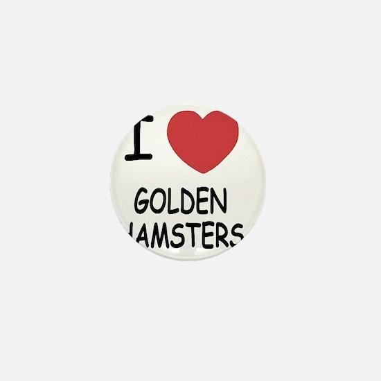 GOLDENHAMSTERS Mini Button