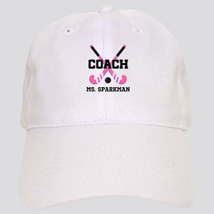 Personalized Hockey Coach Baseball Cap