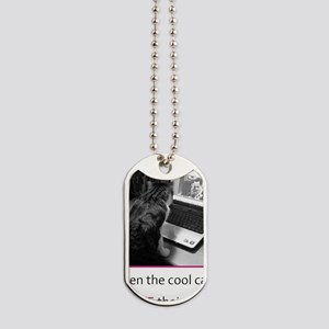 cool cats Dog Tags