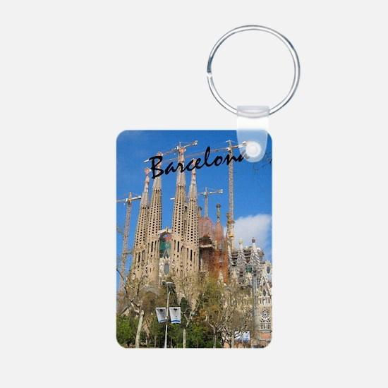 Barcelona_5.5x8.5_Journal_ Aluminum Photo Keychain
