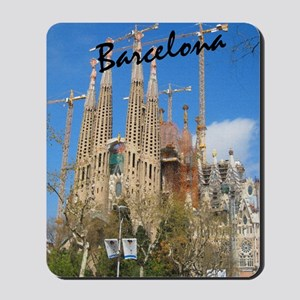 Barcelona_5.5x8.5_Journal_LaSagrdaFamili Mousepad