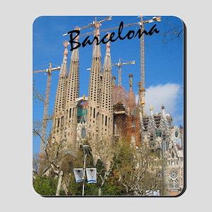 Barcelona_5.5x8.5_Journal_LaSagrdaFamili Mousepad