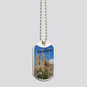 Barcelona_5.5x8.5_Journal_LaSagrdaFamilia Dog Tags