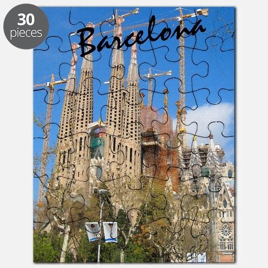 Barcelona_5.5x8.5_Journal_LaSagrdaFamilia Puzzle