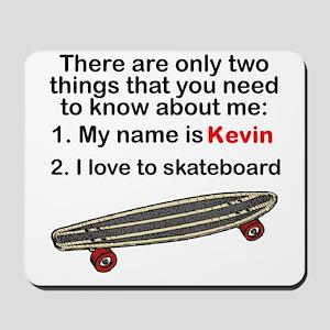 Two Things Skateboarding Mousepad