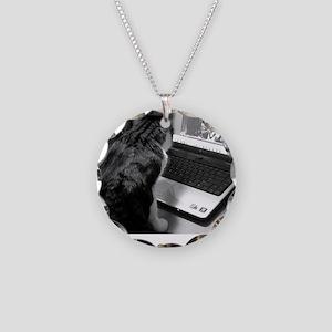 kitty SB Necklace Circle Charm