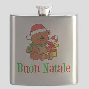 Italian Christmas Apron Flask