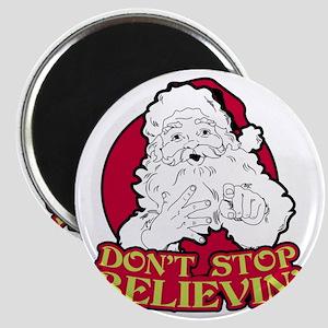 Dont Stop Believin BLK Magnet
